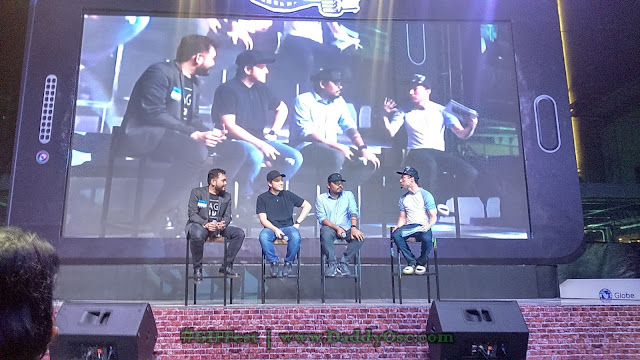 Quark Henares, Paul Soriano, Dan Villegas and Epy Quizon
