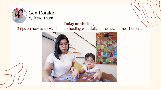 Wondering how to survive homeschooling or even distance learning now that we're facing a pandemic? I have 3 survival tips for you on the blog.