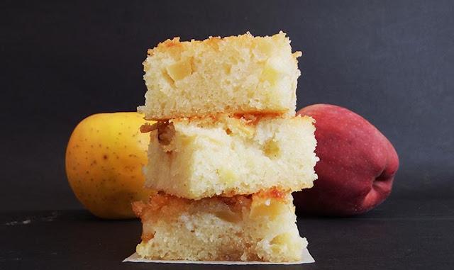 Torta soffice di mele e ricotta