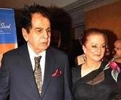Saira Banu with her husband
