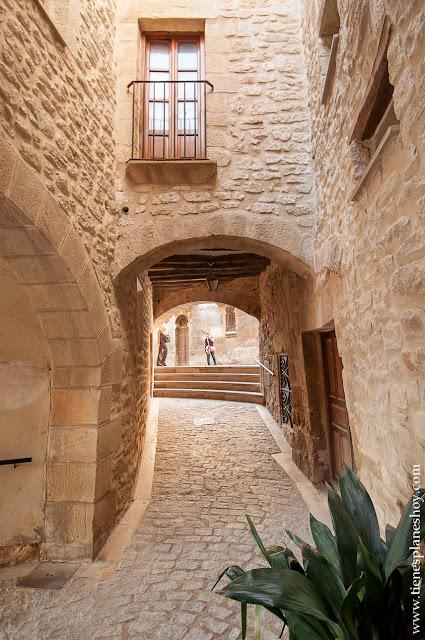 Calaceite pueblo encanto Teruel Matarraña toscana españa