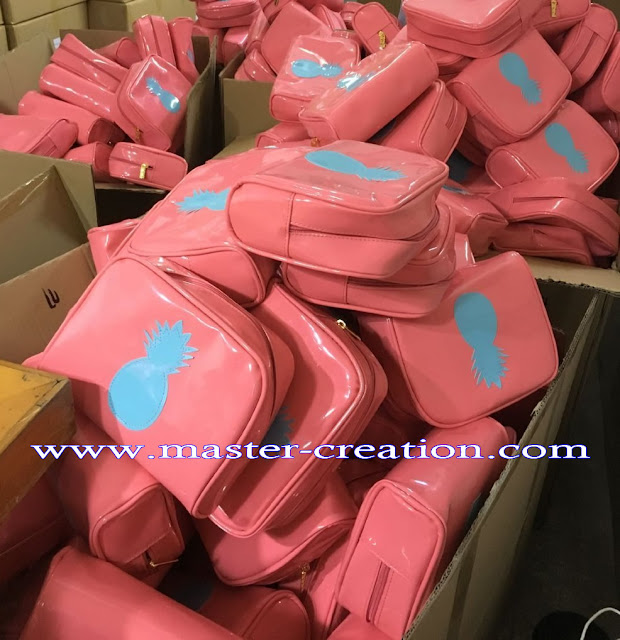 production of cosmetic bag