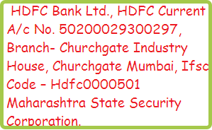 maharastra-security-force-application-charges-bank-details.