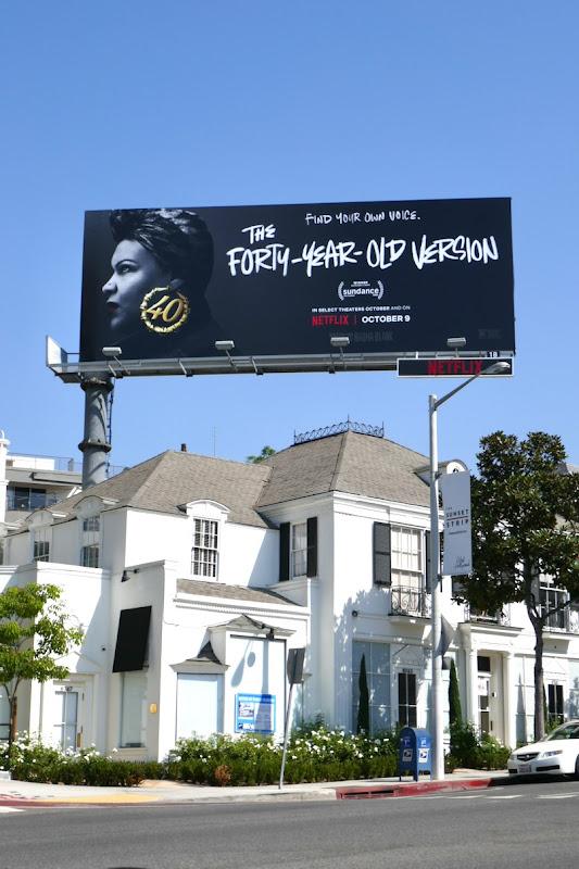 40 Year Old Version billboard