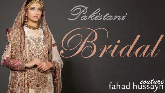 8c616f03f3 Bridal Sharara Dresses Uper Wear | Pakistani Bridal Dresses by Fahad Hussayn  2014-2015