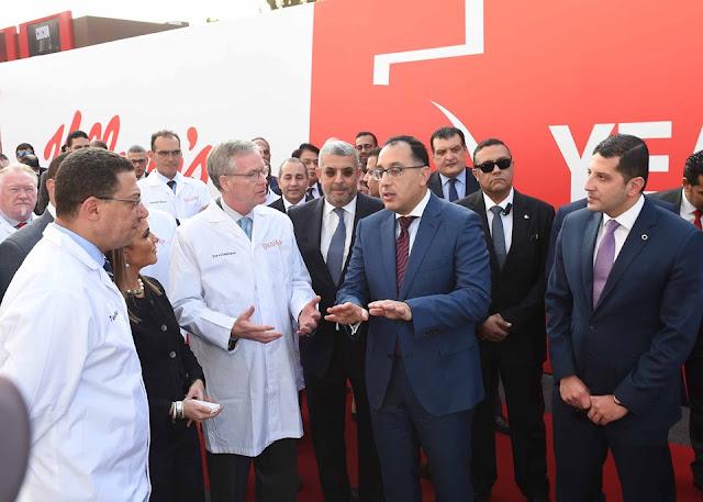 """رئيس الوزراء يشهد افتتاح أعمال تطوير مصنع """"بسكو مصر"""" اليوم"""