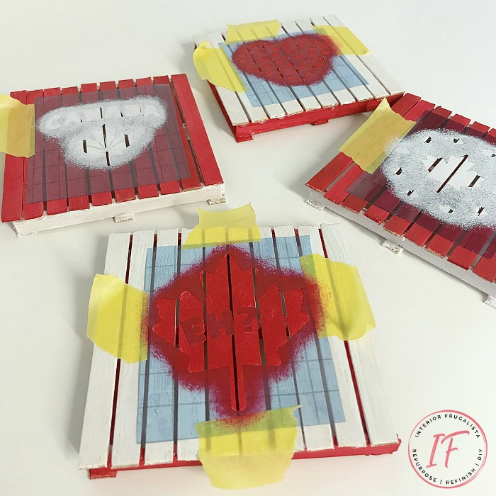 Popsicle Stick Coaster Crafts