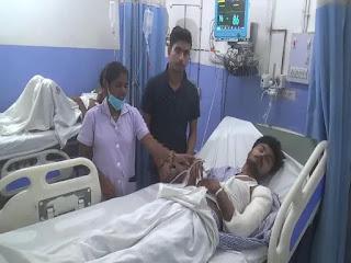 प्रचार में जाने से पहले 'छोटे लालू' पर हमला, अस्पताल में कराया गया भर्ती