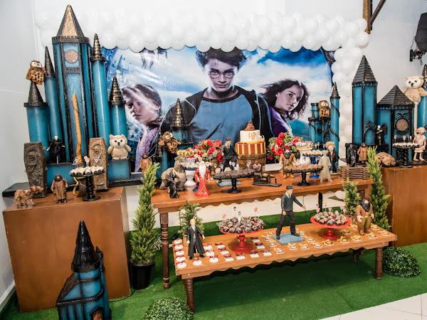 Festa Harry Potter - os 7 anos da Rafaela