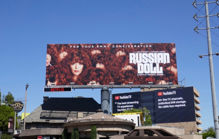 Russian Doll 2019 Emmy consideration billboard