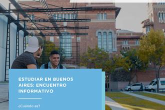 Webinar Informativo: Estudia en Buenos Aires