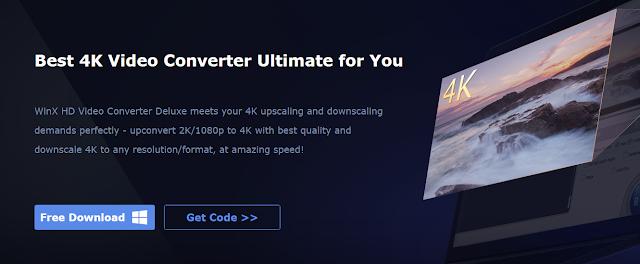 أحصل على سريال تفعيل قانوني و مجاني لبرنامج 4K UHD Video Converter الإحترافي !