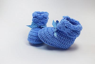 5 - Majovel Crochet. Crochet peucos,escarpines y zapatos para bebé a crochet