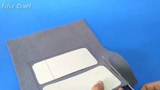 Gunting kain flanel