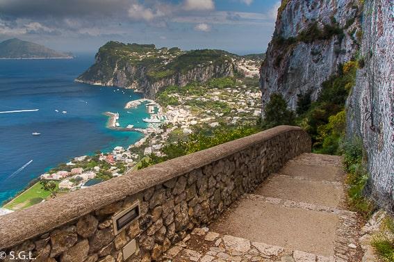Capri. Recorrido por Napoles y alrededores