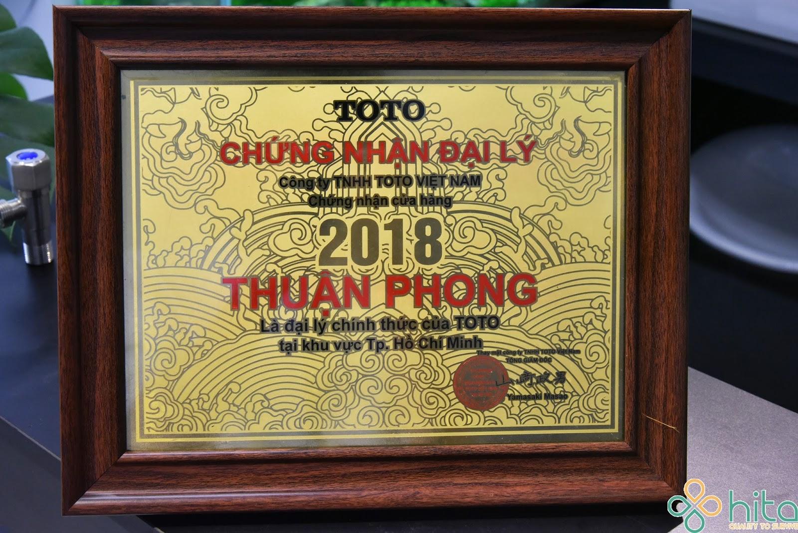 Đại lý TOTO tại TPHCM chính hãng, chiết khấu cao lên đến 25%