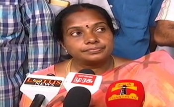 Mystery Men attacks Vanathi Srinivasan's Car – Thanthi Tv