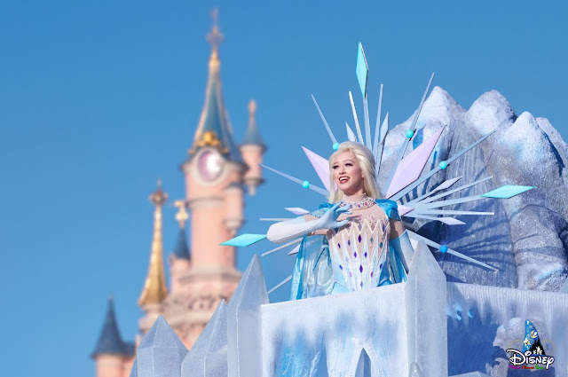 Disney, Frozen, Frozen 2, DLRP, DLP, 巴黎迪士尼, Disneyland Paris, Frozen Celebration, Frozen 2 An Enchanted Journey, Disney Parade