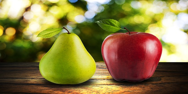 kora kruske i jabuke