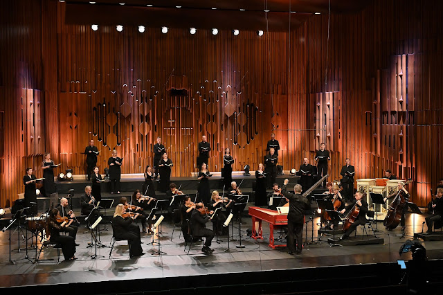 Handel: Messiah - Academy of Ancient Music, Richard Egarr - Barbican (Photo Mark Allan/Barbican)