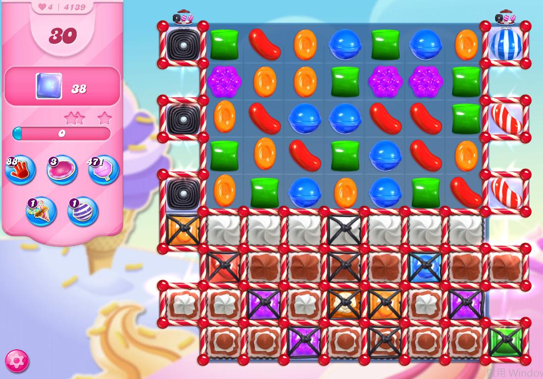 Candy Crush Saga level 4139
