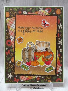 Hope your autumn is a pile of fun by Andrea features Autumn Newton by Newton's Nook Designs; #newtonsnook