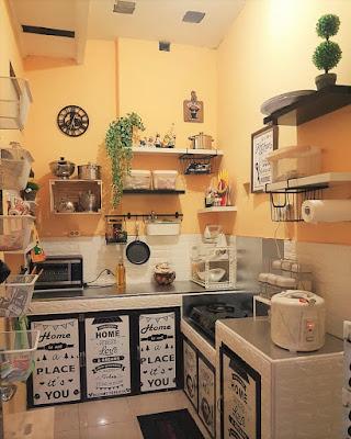 dapur sederhana bersih dan rapi