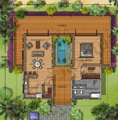 desain rumah sederhana 6x12 minimalis