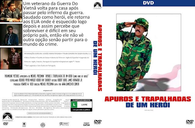 Capa DVD Apuros E Trapalhadas De Um Herói (Coleção)
