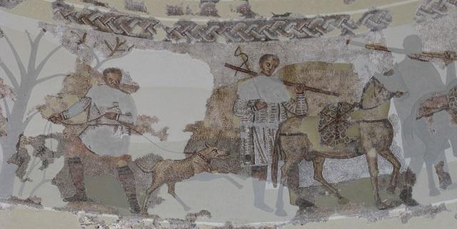 Detall dels mosaics