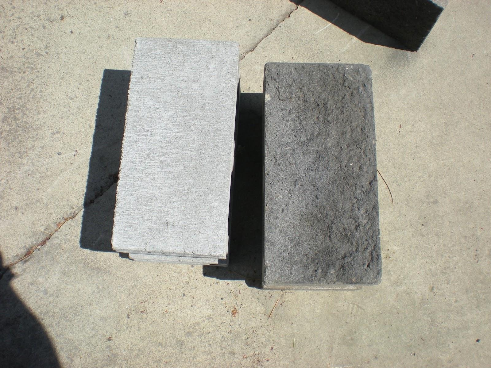 Acid Stain Concrete Retaining Wall | Zef Jam