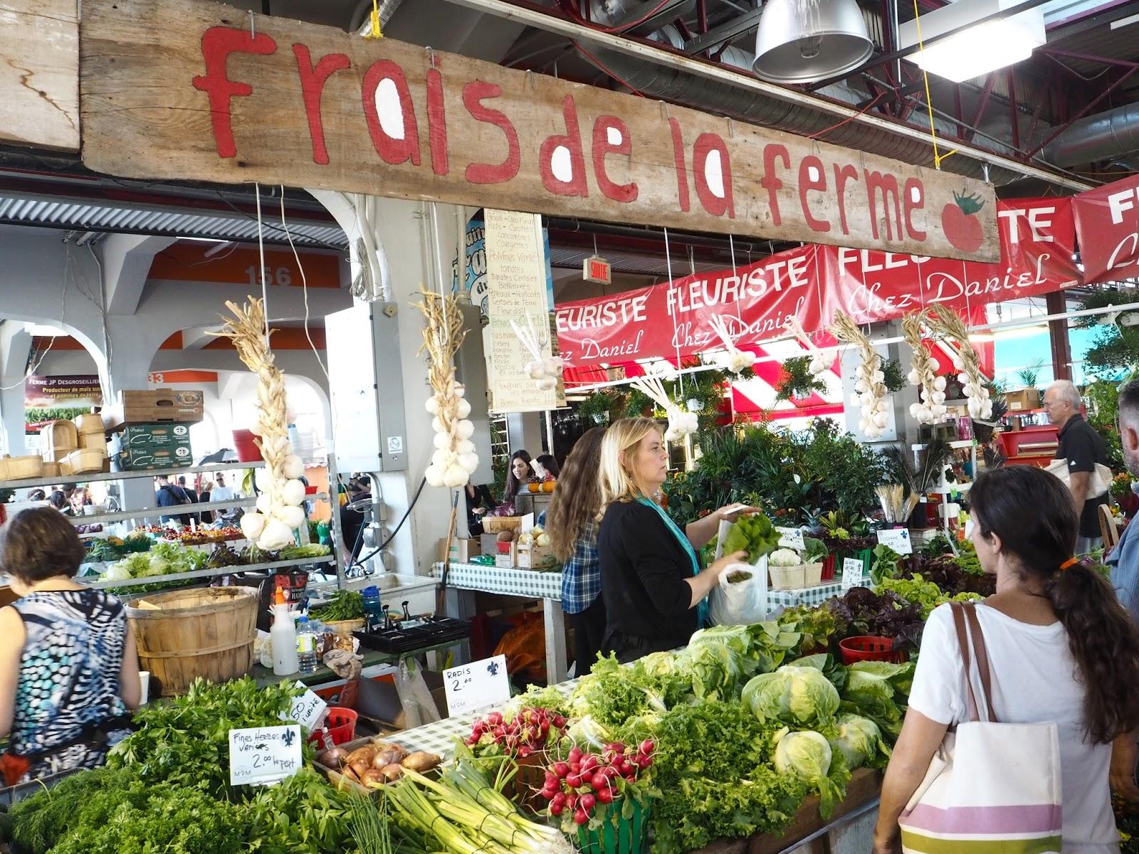 Marché Jean-Talon market Montreal