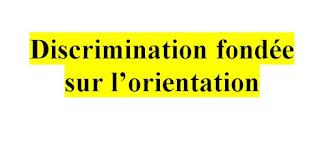 Discrimination fondée sur l'orientation sexuelle  PDF