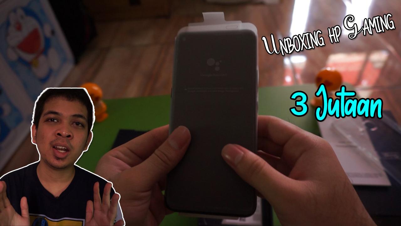 Tonang RGG Unboxing HP Gaming Murah 3 Jutaan (Vivo Z1 PRO)