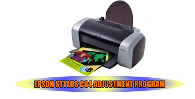 Epson Stylus C84 Printer Adjustment Program