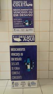 Saúde de Registro-SP inicia ação de descarte seguro de medicamentos