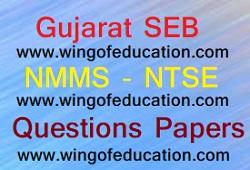 Gujarat SEB NMMS-NTSE Questions Papers - www.wingofeducation.com
