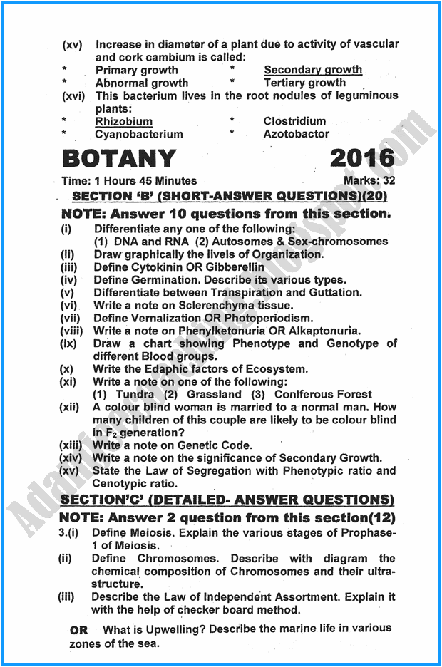 xii-botany-past-year-paper-2016