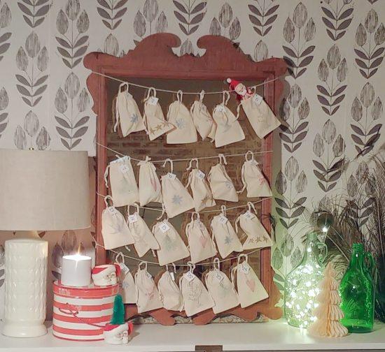 DIY Holiday Advent Calendar
