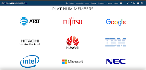 Today Microsoft is a platinum corporate member of the Linux Foundation.