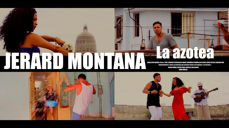 Jerard Montana - ¨La azotea¨ - Videoclip - Dirección: Lixuán Licea - Tony Lugones. Portal Del Vídeo Clip Cubano. Música cubana. CUBA.