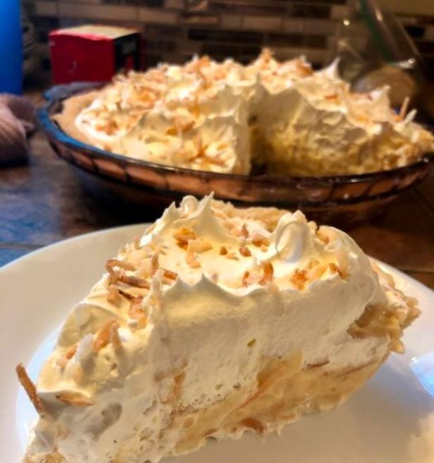 No Bake Coconut Cream Pie