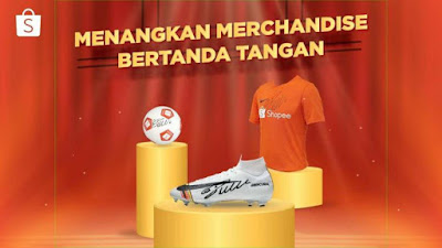 Merchandise resmi Ronaldo dari Shopee