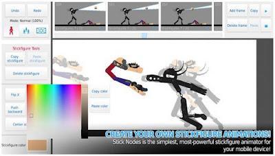 Aplikasi Pembuat Animasi di Android - Stick Nodes