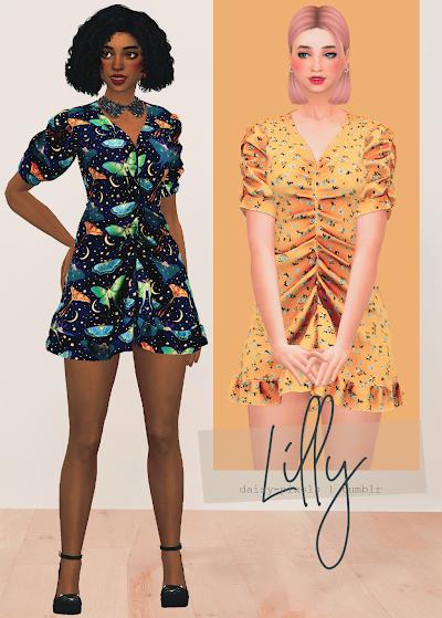 - ̗̀ Lilly Dress ̖́- (TS4)