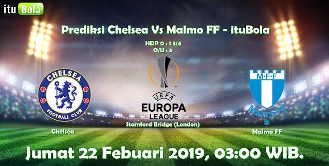 Prediksi Chelsea Vs Malmo FF - ituBola