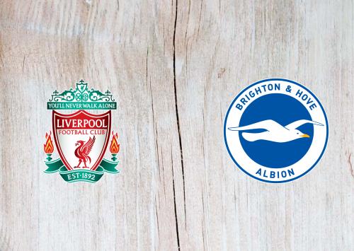 Liverpool Vs Brighton Hove Albion Full Match