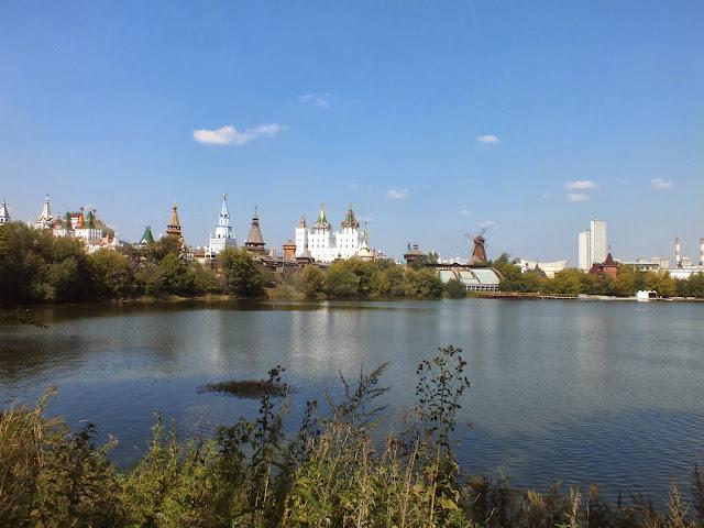 Parque Izmáilovo en Moscú