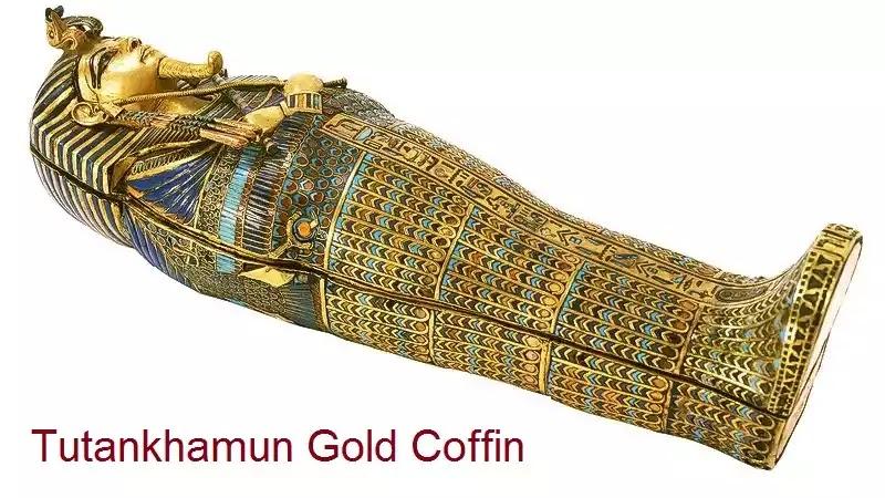 Tutankhamun Gold Coffin