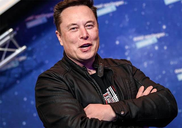 Livre antigo sobre Elon Musk